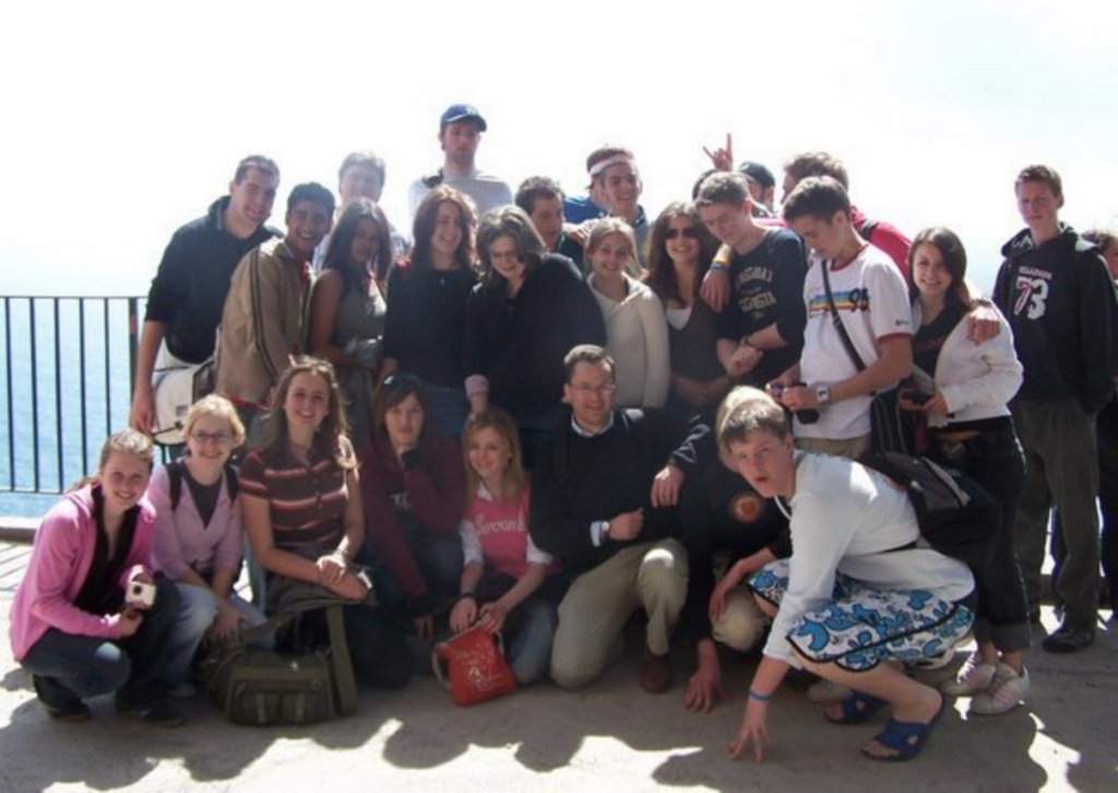 Me on said field trip in 2003